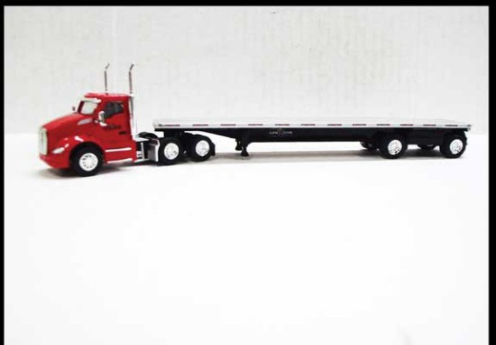 Picture of Kenworth T680 with Flatbed -Lonestar
