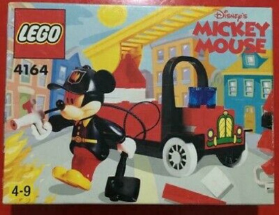 Picture of Disney Mickey's Fire Engine by Lego