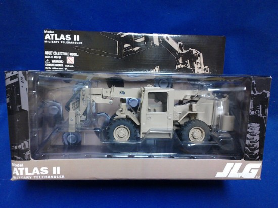 Picture of JLG Atlas II military telehandler - tan