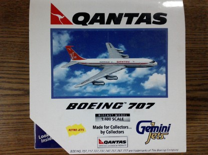 Picture of Boeing 707    Qantas