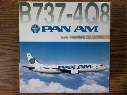 Picture of B737-4Q8   Pan Am