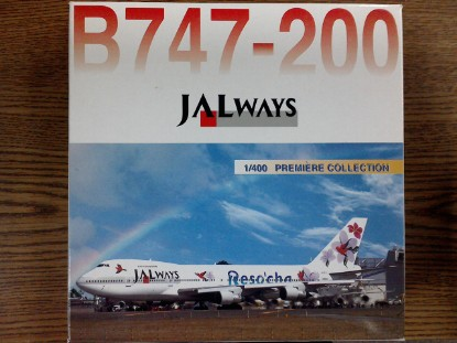 Picture of B747-200  Jalways