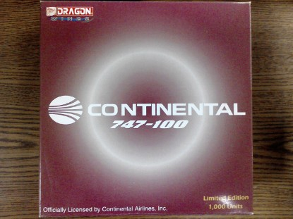 Picture of Continental 747-100