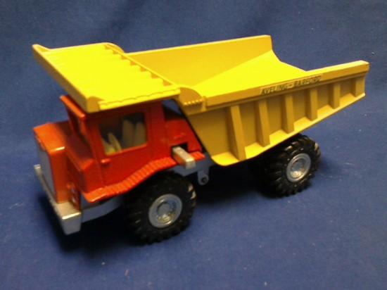Picture of Aveling-Barford Centaur mine dump - metal wheel version