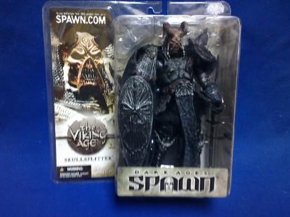 Picture of Spawn series-  Skullsplitter figure-black