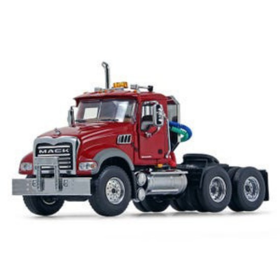 Picture of Mack Granite tractor - red