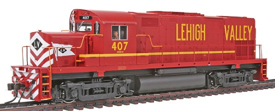 Picture of Alco C420 Phase I - Standard DC -  Lehigh Valley #407