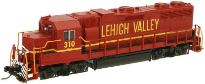 Picture of GP38 low nose locomotive DCC ready - LEHIGH VALLEY #311