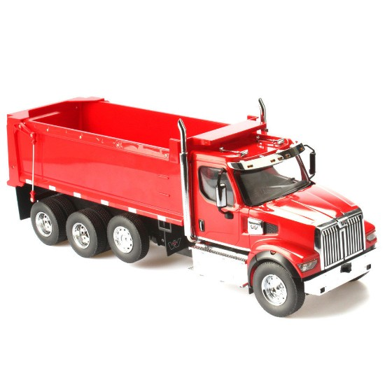 Picture of Western Star 4900 SFFA dump - red - Radio Control