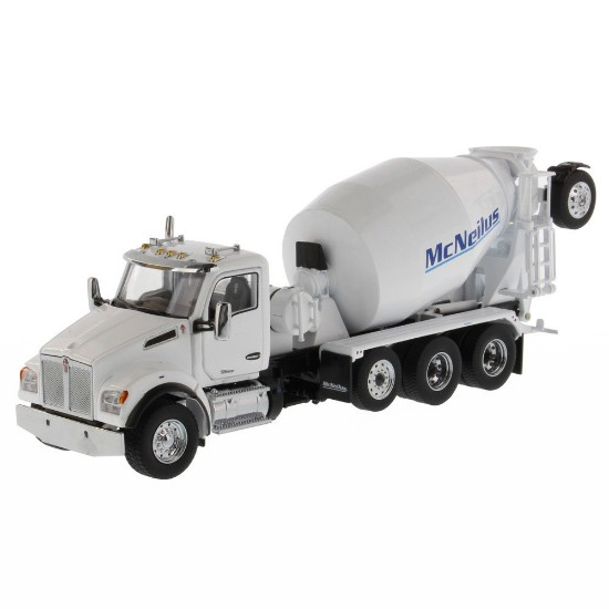 Picture of Kenworth T880 SBFA w/McNeilus concrete mixer - white