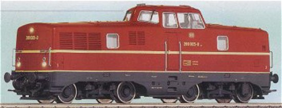 Picture of BR280 007-6 diesel locomotive - DB  digital sound