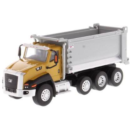 Picture of Caterpillar CT660 OX Stampede Dump Truck  - yellow