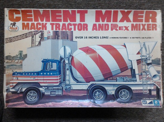 Picture of Mack DM800 with Rex mixer - Kit
