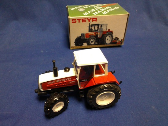 Picture of Steyr 8130 turbo SK2 farm tractor