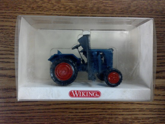 Picture of Normag Faktor 1 farm tractor with sickle bar - blue