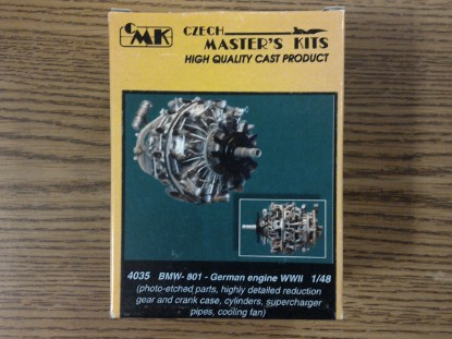 Picture of BMW 801 engine set