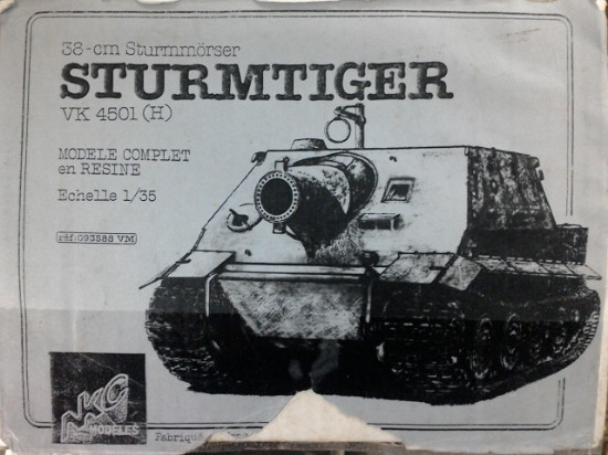 Picture of Sturmtiger 35cm mortar kit