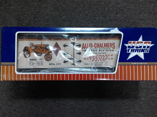 Picture of Allis-Chalmers refrigerator car