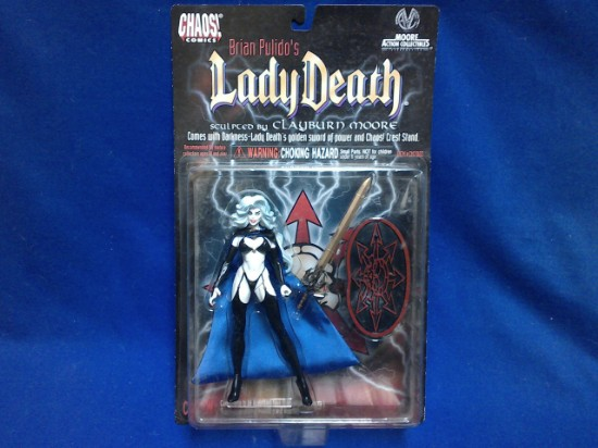 Picture of LADY DEATH Action Figure Moore Action Collectibles 1997