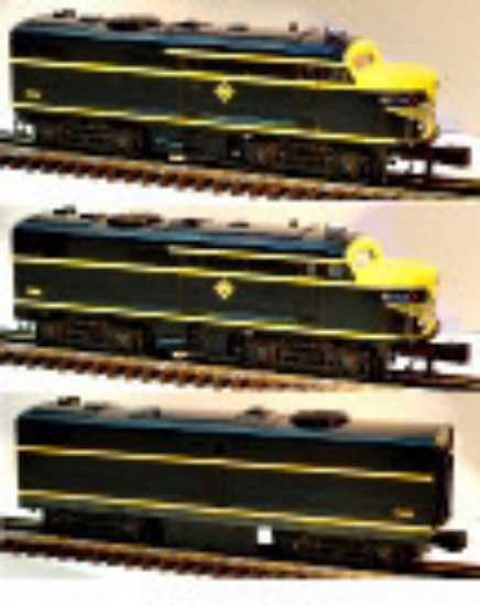 Picture of Erie Alco ABA Diesel Locomotives