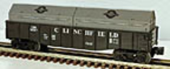 Picture of Clinchfield Gondola with coil covers