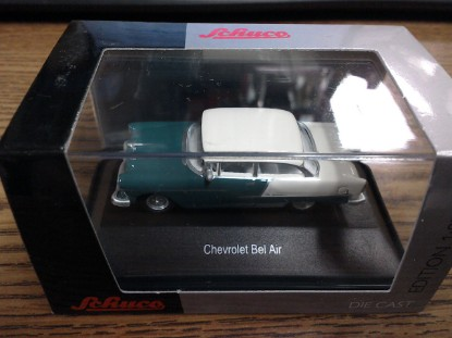 Picture of 1955 Chevy Bel Air-green & white