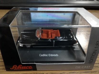 Picture of 1953 Cadillac  Eldorado-black  red interior  convertible