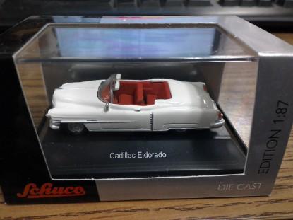 Picture of 1953 Cadillac  Eldorado-white  red interior  convertible