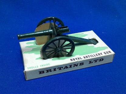 Picture of Royal Artillery gun  - dark green