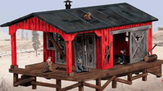 Picture of Smoking Hobo shack