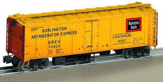 Picture of Burlington steel sided reefer