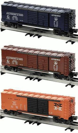 Picture of Double door automobile boxcar set  3 pk