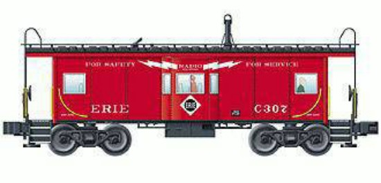 Picture of Bay window caboose ERIE