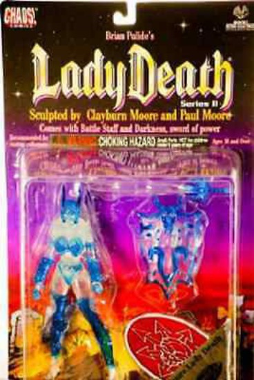 Picture of Azure Lady Death 6 Inch Action Figure Moore Collectibles