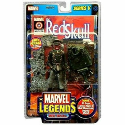 Picture of ToyBiz Marvel Legends: Red Skull Action Figure- Series V