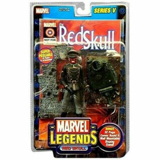 Picture of ToyBiz Marvel Legends: Red Skull Action Figure- Series V