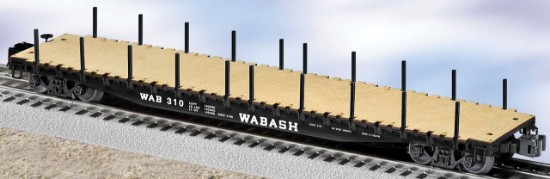 Picture of Wabash PS-4 Flat car with stakes