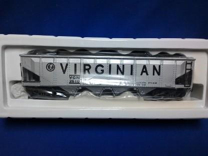Picture of Virginian  aluminum Die-Cast Hopper car