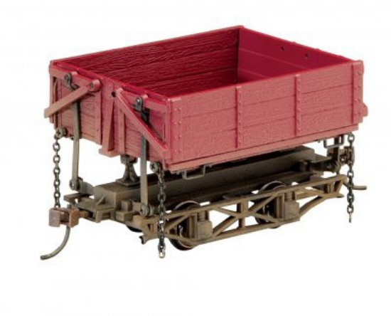 Picture of On30 WOOD SIDE-DUMP CAR - RED OXIDE (3 BOX)