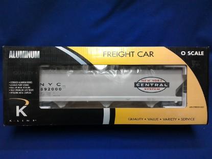 Picture of NYC  aluminum Die-Cast Hopper car