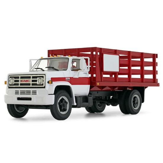 Picture of 1970's GMC 6500 Stake Truck - white/red