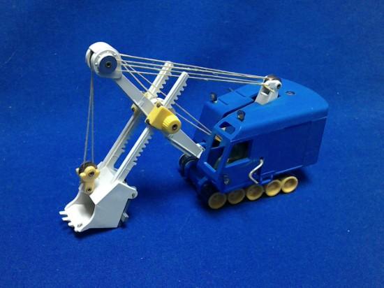 Picture of Menck M60 cable shovel - blue