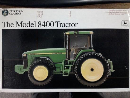 Picture of John Deere 8400 Tractor  Precision #8