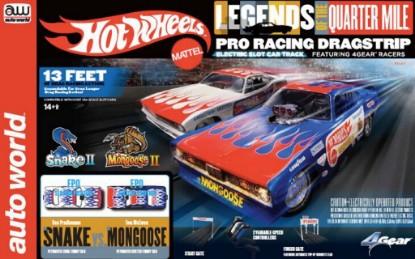 Picture of HO Hotwheels Drag Slot Car Racing Set