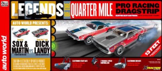 Picture of HO Legends of the .25 mile pro drag Slot Car Racing Set