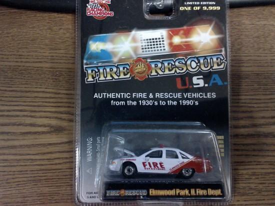 Picture of Elmwood Park Ill Fire Dept Car