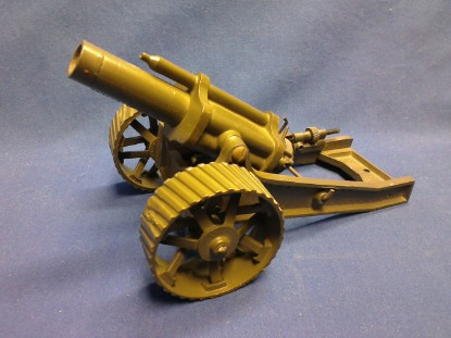 "Picture of 18"" heavy howitzer artillery gun - olive"