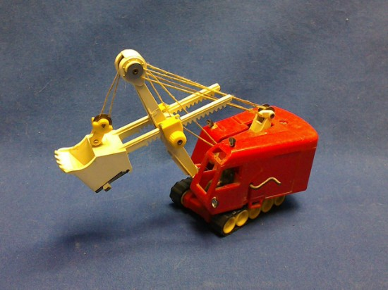 Picture of Menck M60 cable shovel - red