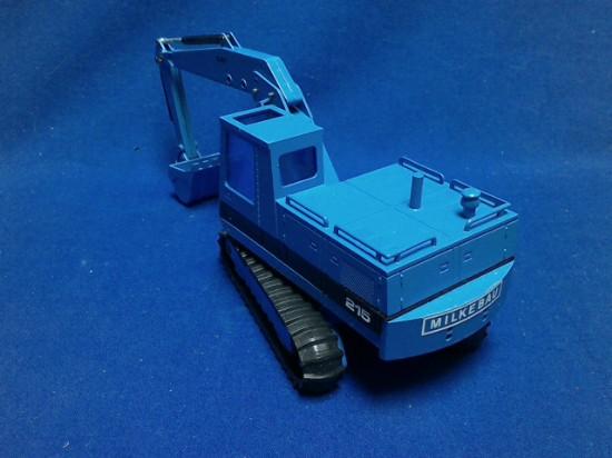 Picture of Caterpillar 215 track excavator - MILKEBAU - blue