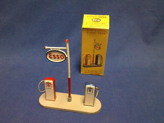 Picture of Esso Petrol pumps set